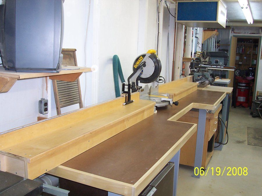 Anyone Built A Miter Saw Bench Pirate4x4 Com 4x4 And Off Road Forum Miter Saw Bench Miter Saw Woodworking