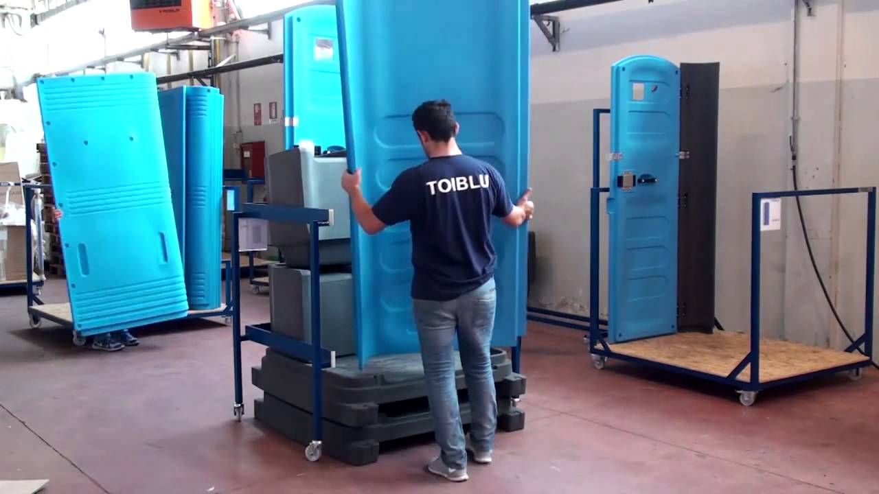 How To Assemble A Porta Potty Toimex Portable Toilet By Toiblu