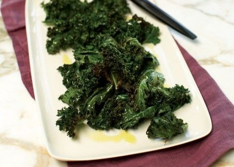 Crispy Kale Leaves Recipe | Vegetarian Times