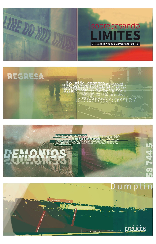 Ciclo Promocional Canal Isat Cuadernillo Promocional De Tres Películas Del Director De Fotografía Christop Director De Fotografía Identidad Visual Fotografia