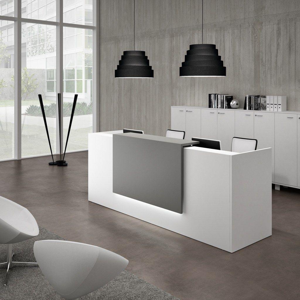 Modular reception desk z2 by quadrifoglio sistemi d 39 arredo for Reception scrivania