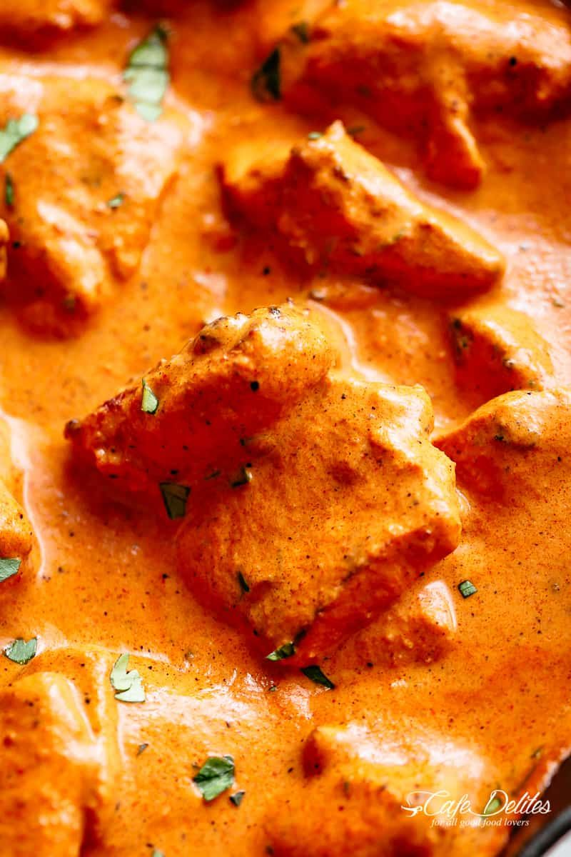 Tender, juicy and easy to make butter chicken recipe for