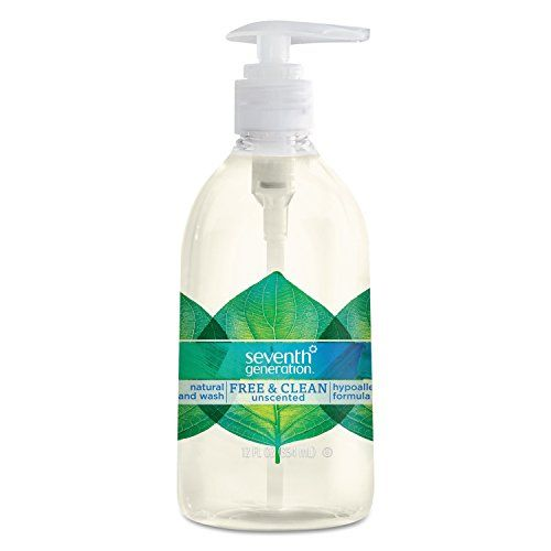 Seventh Generation Hand Wash Free And Clear 12 Ounce Learn More