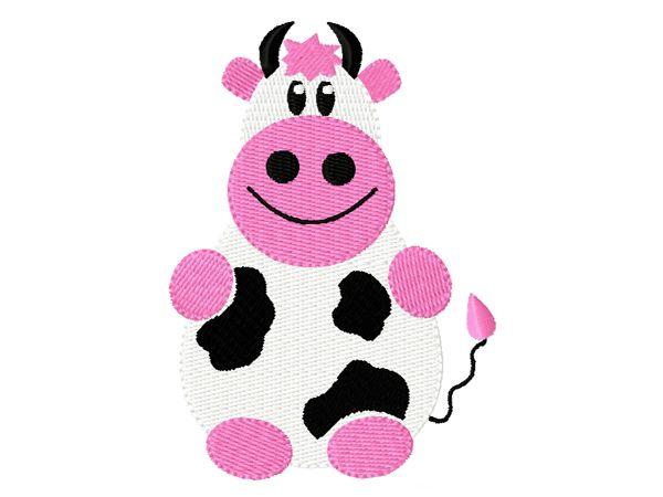 Stickmuster Stickdatei Embroidery Design Animal Cow by www.Stickmuster.org. Dein Shop für Stickmuster / Stickdateien. Your Embroidery Designs Shop.