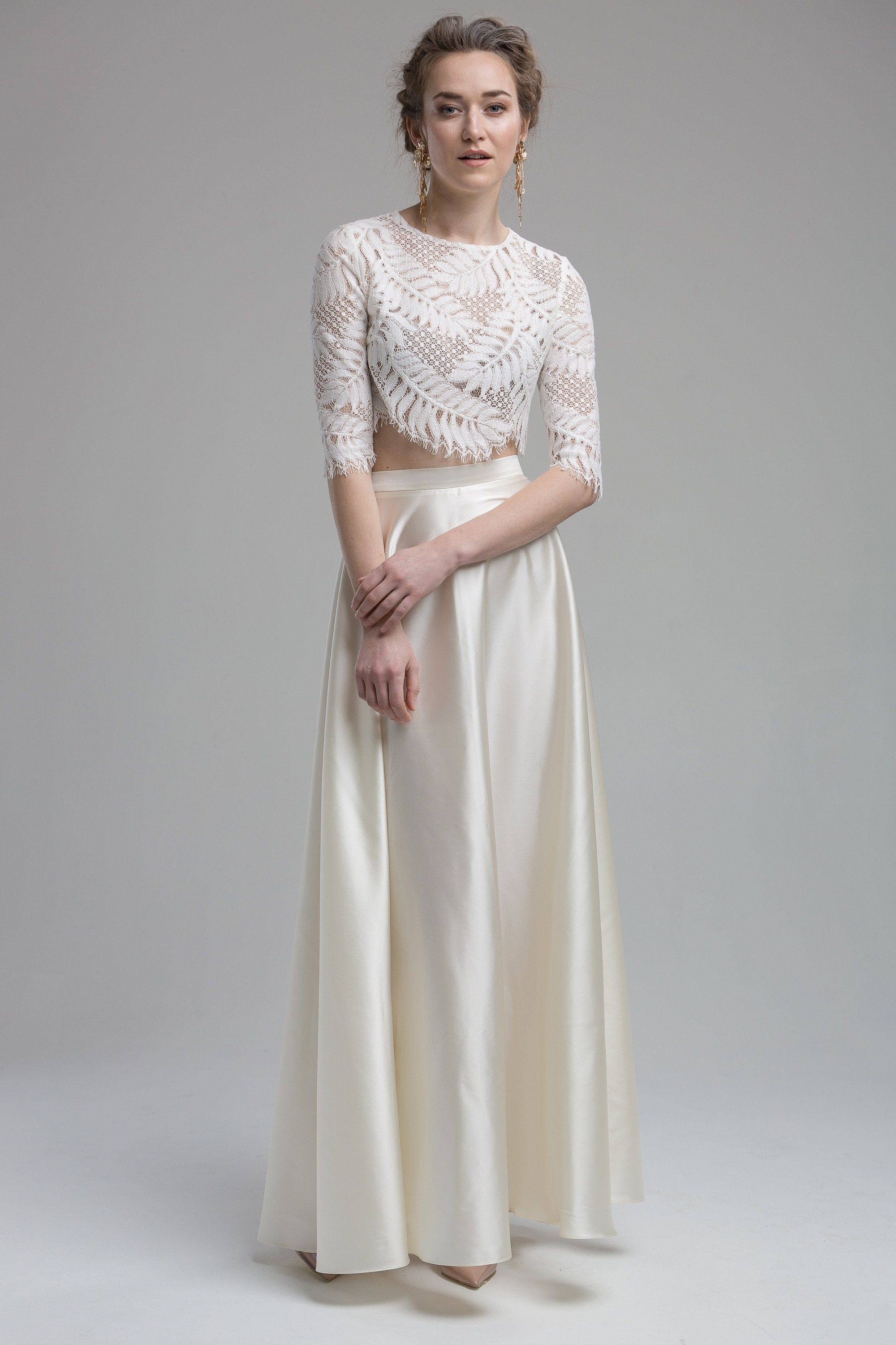 bridal trends as seen at white gallery and london bridal week