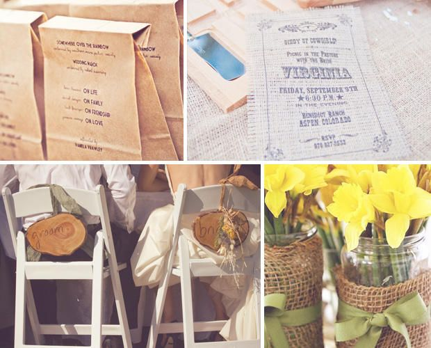Wedding Ideas: The Rustic and Vintage Wedding
