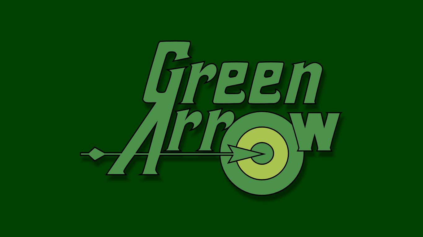Green Arrow Text Logo WP by MorganRLewis.deviantart.com on ... Green Arrow Superhero Logo