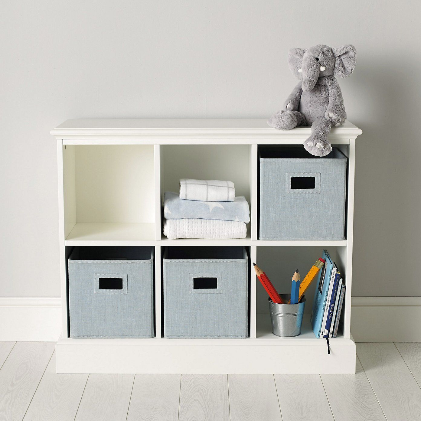 Classic 6 Cube Storage Unit The White Company Cube Storage
