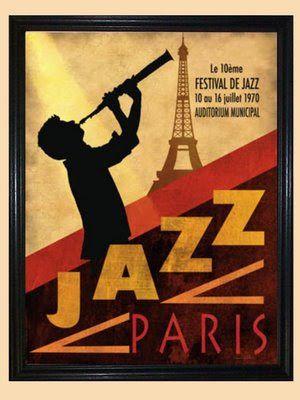 vintage jazz poster kafkaesque