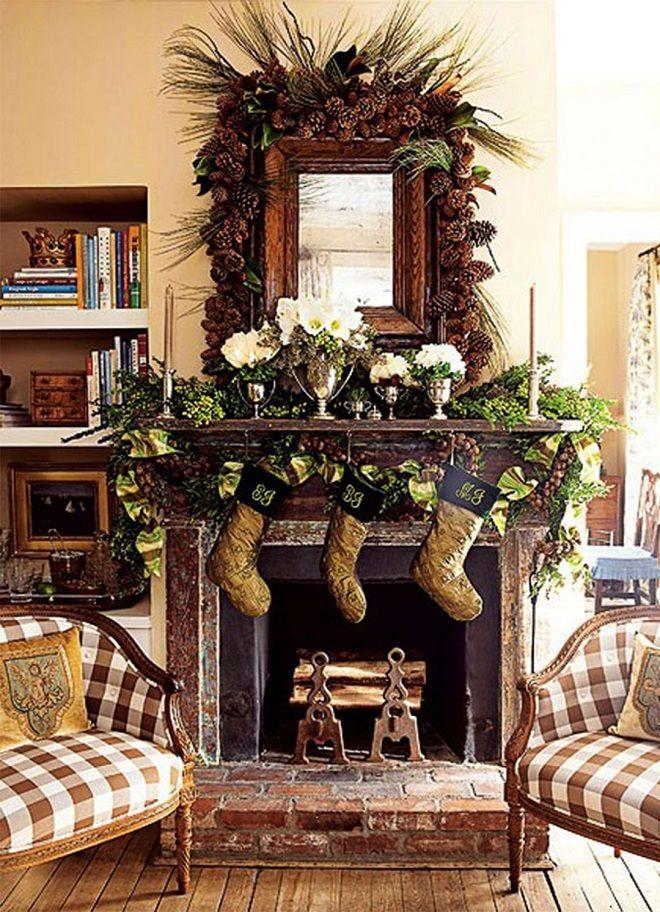 Christmas Theme Decorating Ideas stunning rustic christmas decorating ideas | rustic christmas