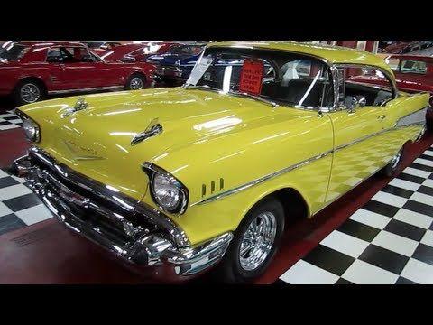 1957 Chevy Belair Restored Walk Around Tour Chevrolet Chevy