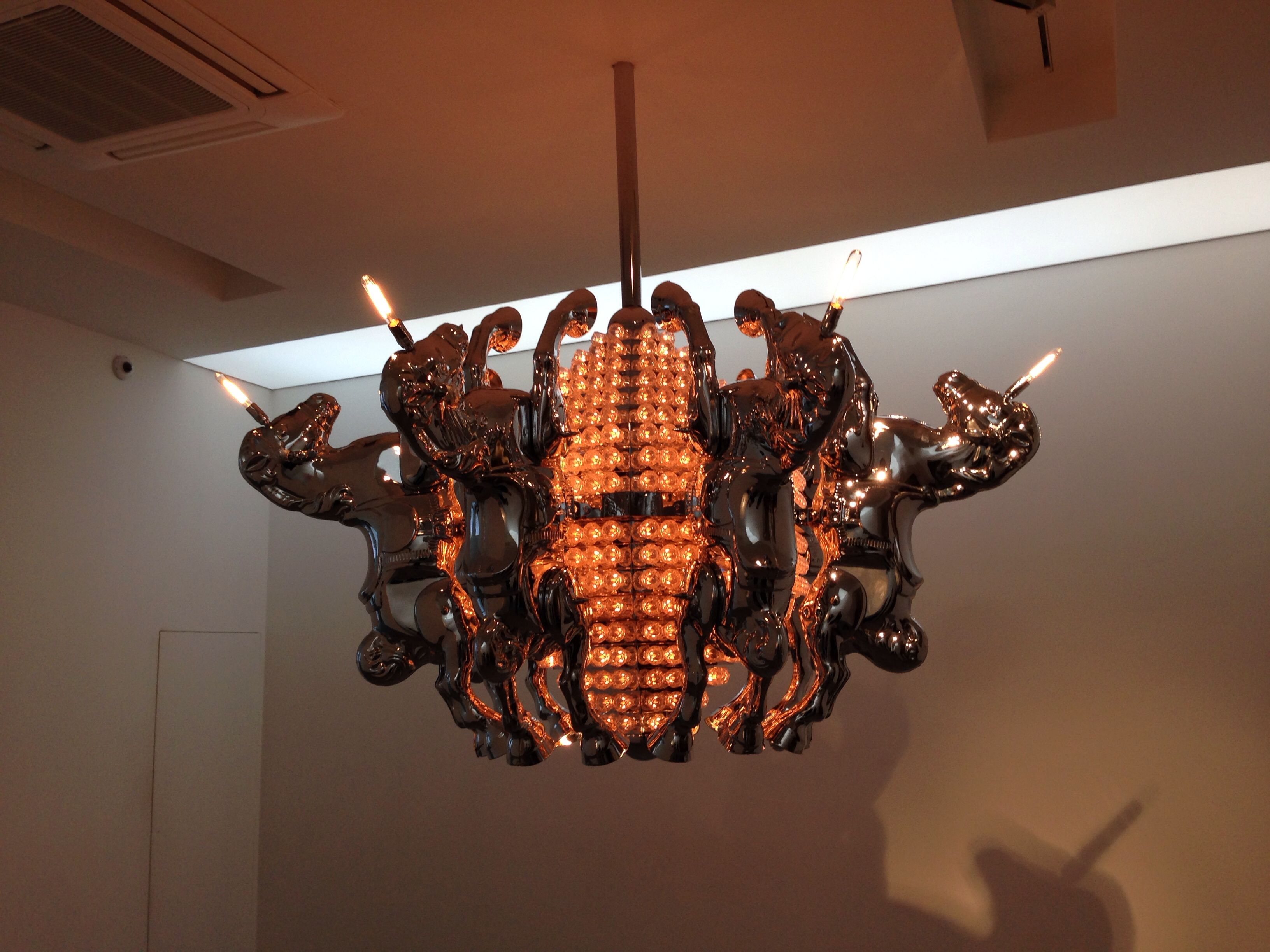 Prairie king chandelier by stuart haygarth now on show at prairie king chandelier by stuart haygarth now on show at carpenters workshop gallery paris arubaitofo Images