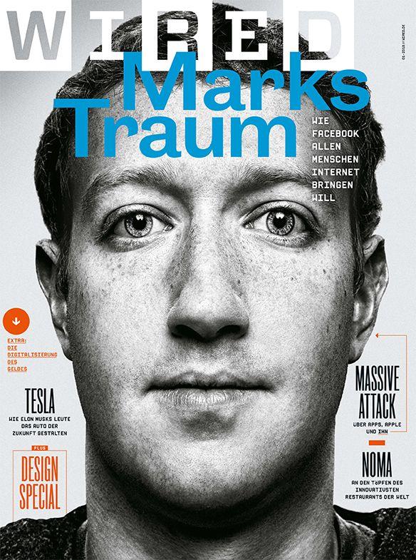 Die erste WIRED-Ausgabe des Jahres 2016 - mit Mark Zuckerberg ...