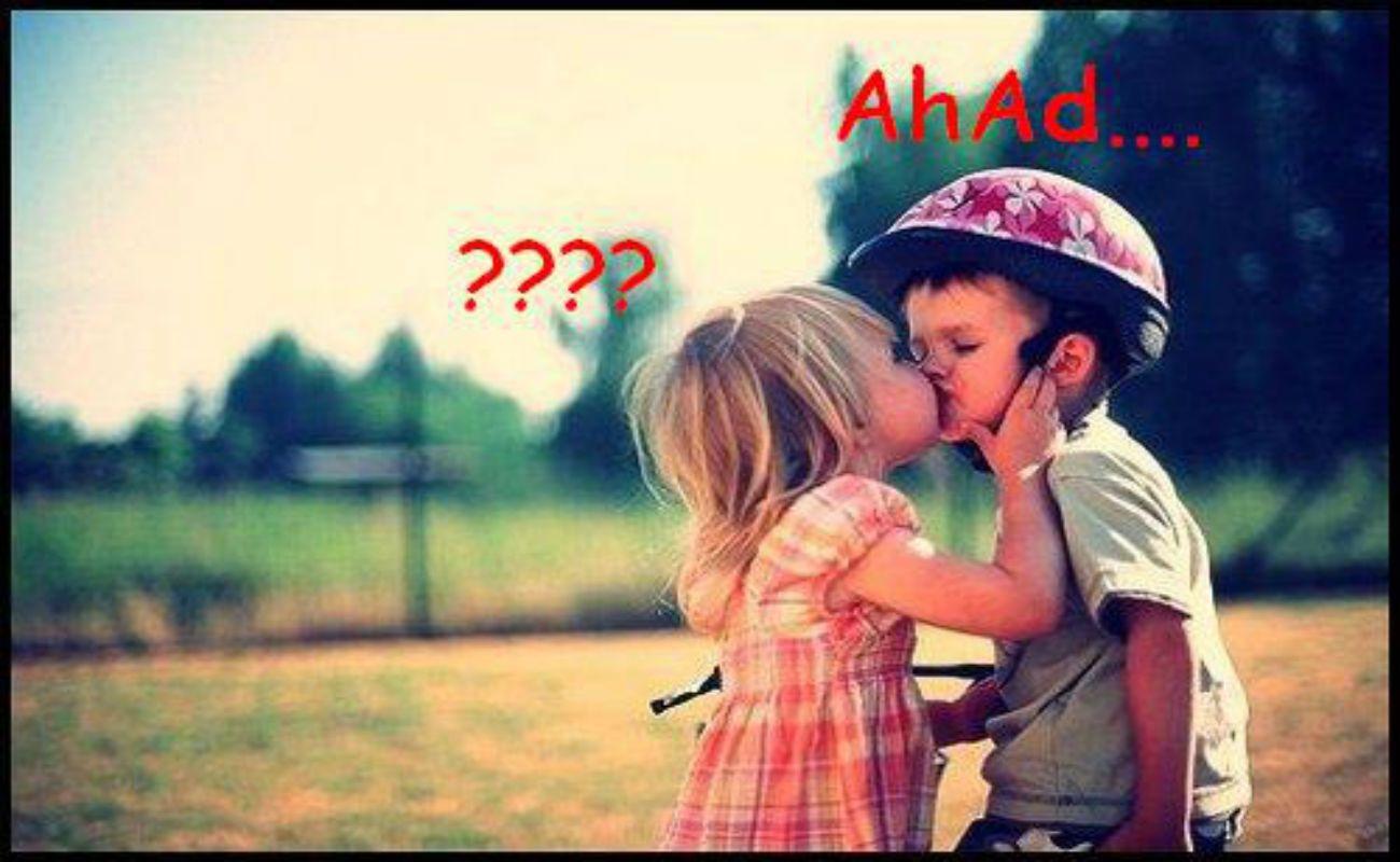 boy girl kissing wallpaper Collection