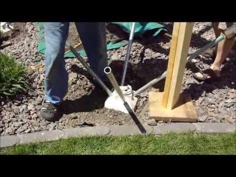 A Cool New Product That S Making Deck Footings Faster And Easier To Install It S Called A Diamond Pier Foundation Syst Deck Footings Diy Deck Building A Deck