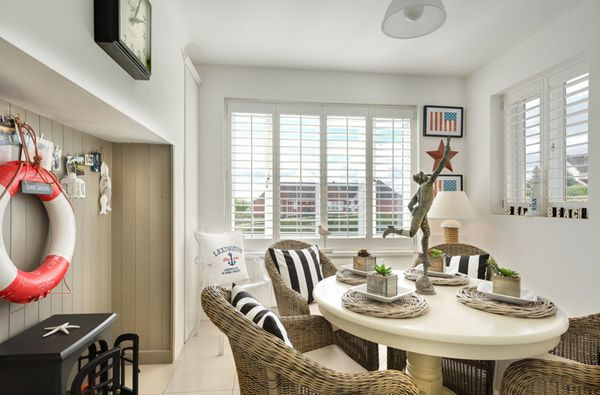 20 Nautical Home Decoration In The Dining Room