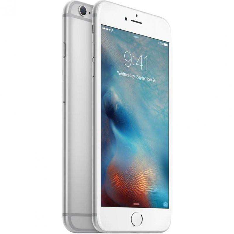 Apple Iphone 6s Plus Smartphone 4g Lte 128 Gb Silver Apple Iphone Apple Iphone 6s Apple Iphone 6s Plus