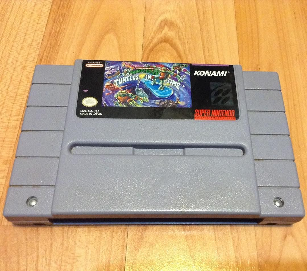 On instagram by retrogame6ix #nes #microhobbit (o) http://ift.tt/1Pqi42N all time favourite beat em up ever hands down! One of my first games owned as a kid. My game I played most for the Super Nintendo for sure!  #nintendo #n64 #turtlesintime #ninjaturtles #rare  #teenagemutantninjaturtles #retro #retrogamer #retrogames #retrocollective #retrocollector #vintage #oldschool #snes  #videogames #videogameaddict #supermario #ninstagram #toronto #ontario #canada #6ix #supernintendo #retrogaming…