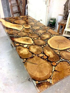 Tavoli Con Tronchi Di Legno.20 Idee Meravigliose Realizzate Con Tronchi Di Legno Design