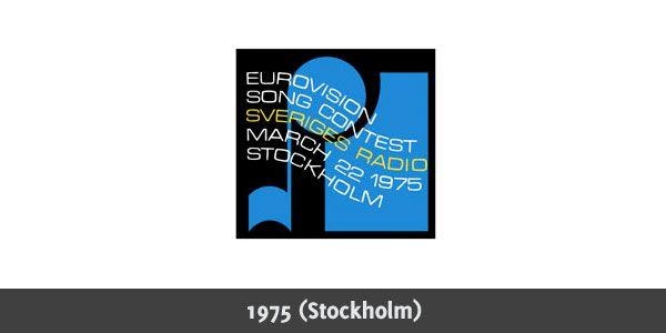 Eurovision Song Contest 1975 logo | Eurovisión, Logotipos ...