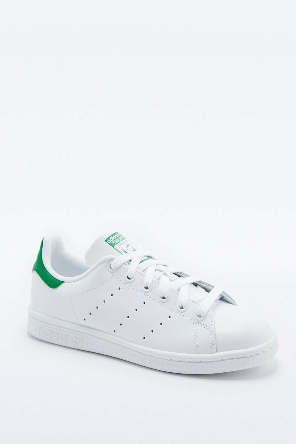 more photos e429d 457be adidas Originals Stan Smith White and Green Trainers