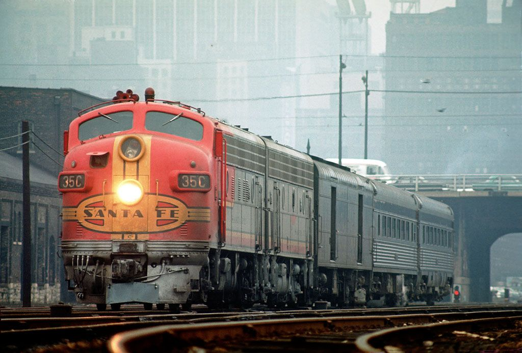 Atsf chicago railroad history lionel trains
