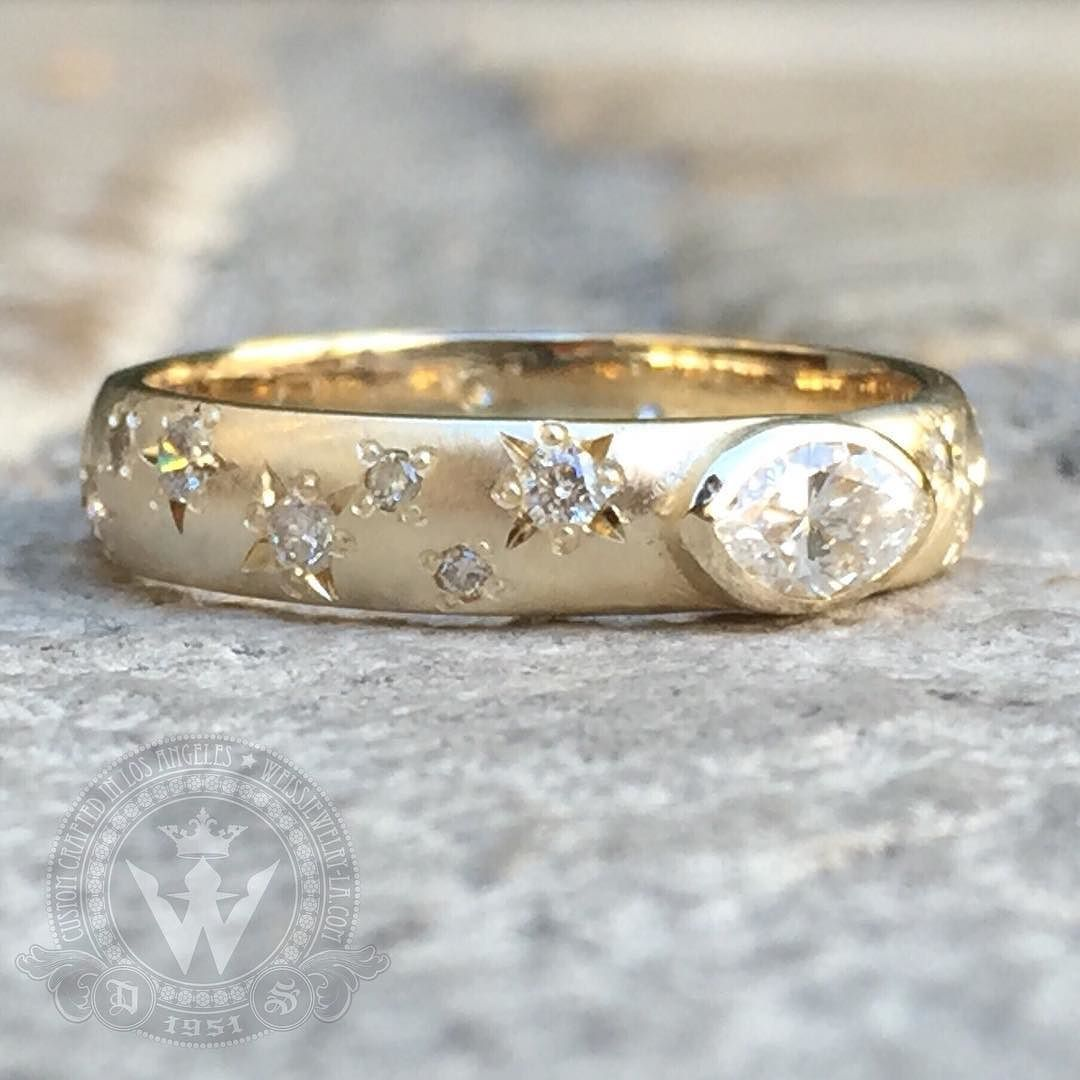 Transformed old wedding ring into a glorious new ring remodel