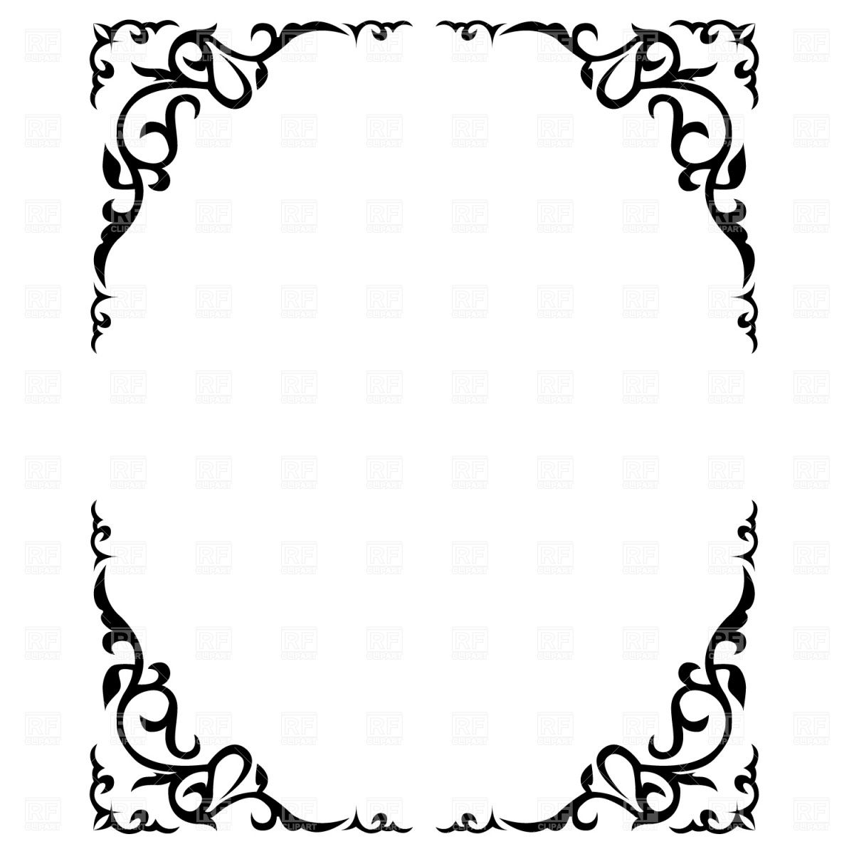 Frame Royalty Free Downloads Clipart 1