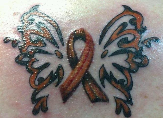Multiple Tattoo Sleeve: Multiple+Sclerosis+Symbol