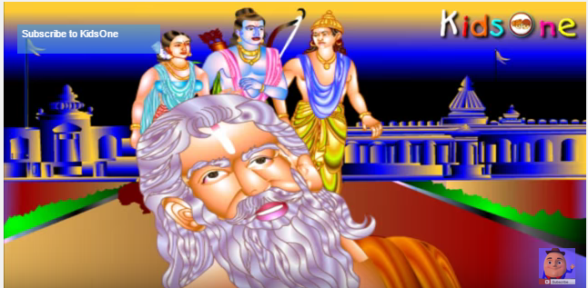 Valmiki In Hindi with Animation Animation, Hindi