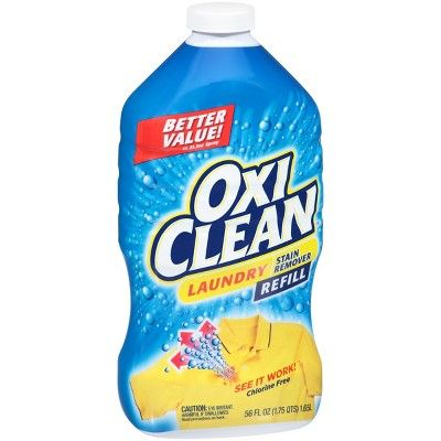 Oxi Clean Laundry Stain Remover Refill 56 Fl Oz Adult Unisex