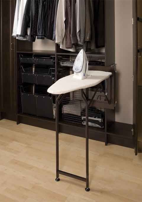 Superieur Small Walk In Closet | Ironing Board Inside Your Walk In Closet | Walk In  Closet Inspiration