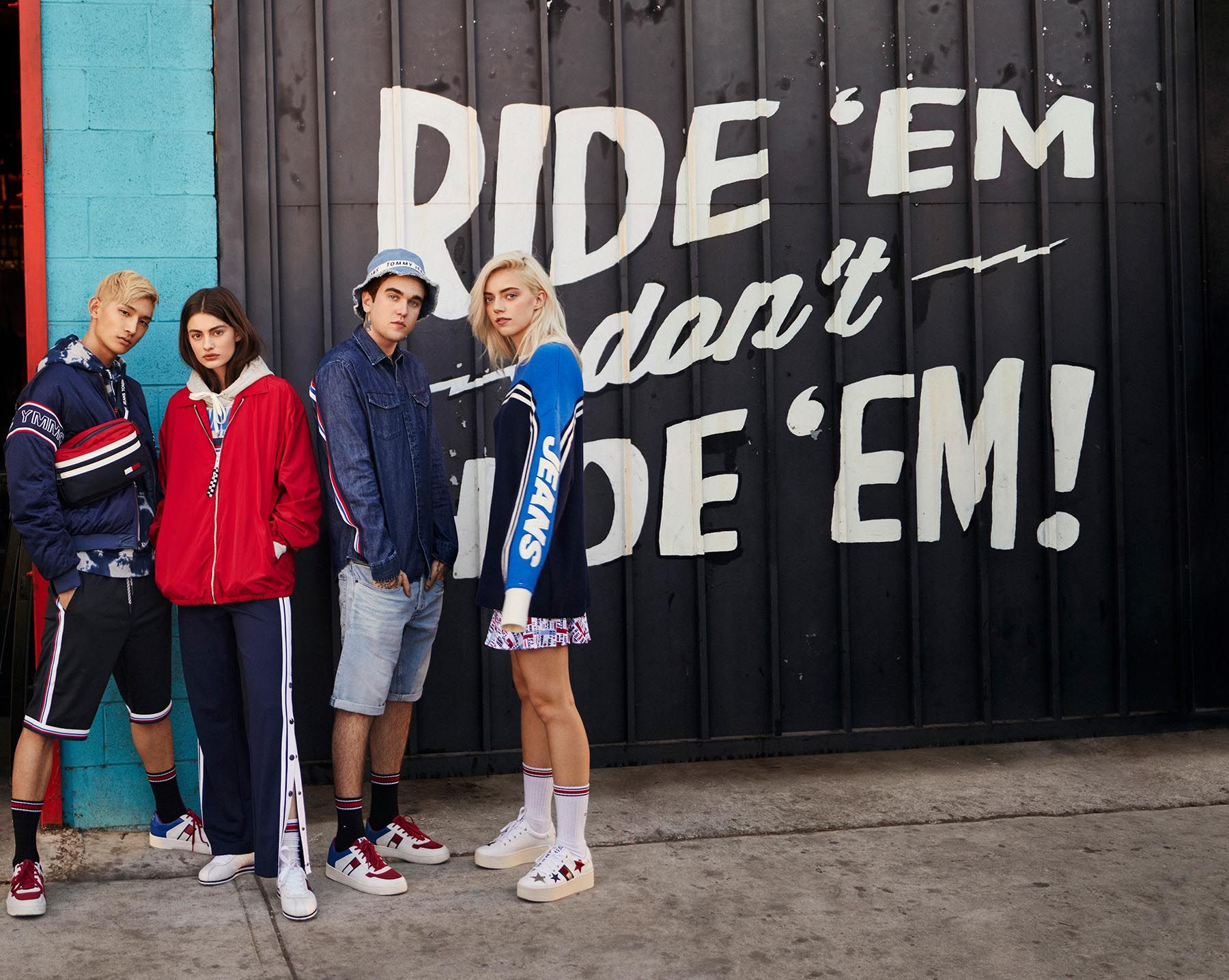 23dccf46 Tommy Jeans Spring 2018 Ad Campaign, The Latest in Ads available to view at  TheImpression.com - Fashion News, Fashion Films, Runway, Denim