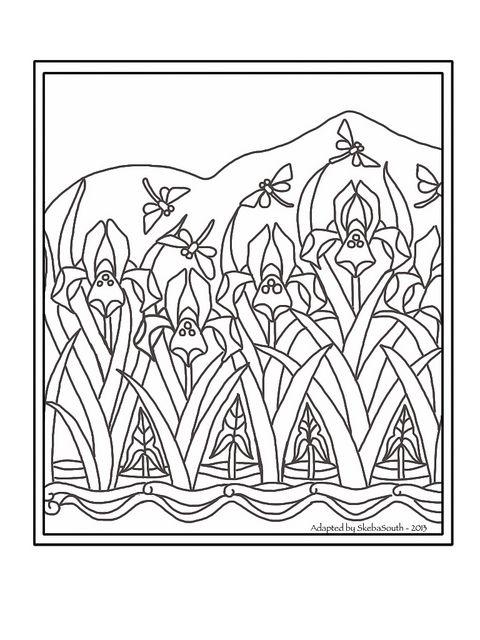 Art Nouveau Floral Art Nouveau Pattern Art Nouveau Floral Colorful Art
