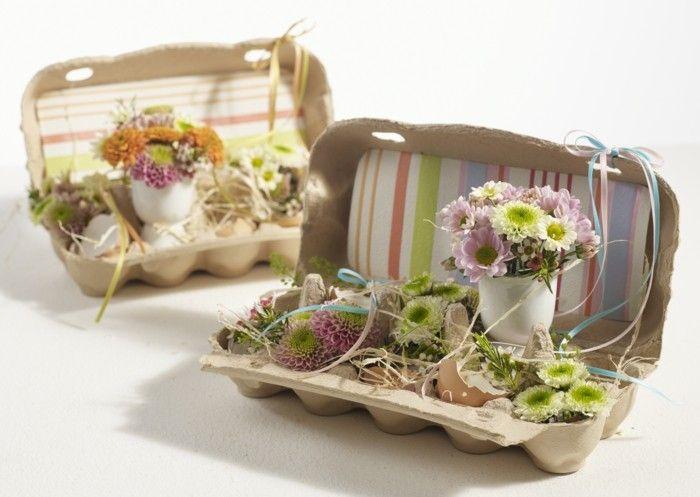 Osterbasteleien Schnelle Und Leichte Osterdekoideen Pinterest