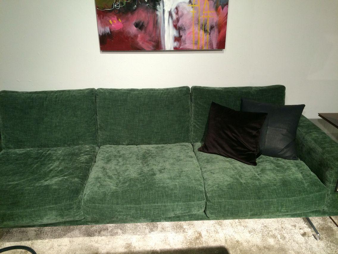 Cheap bo concept carlton sofa anders norgaard in green napoli fabric per metre with interior - Interior design napoli ...