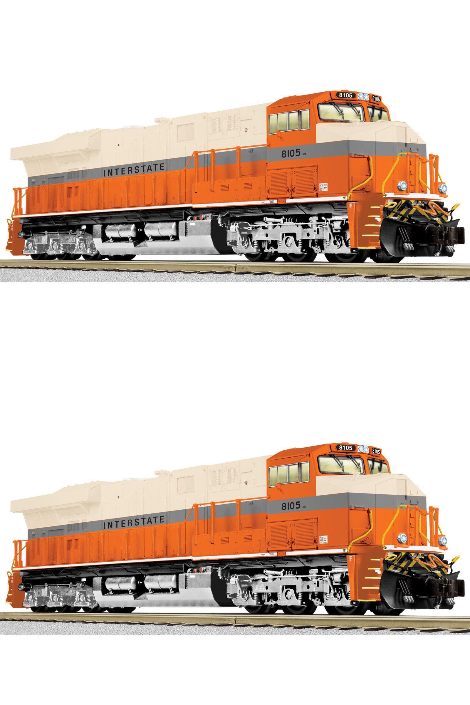 Locomotives american flyer interstate ns heritage