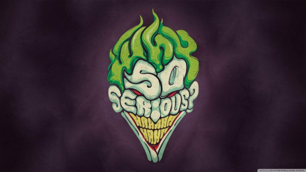 Joker Graffiti Wallpaper Joker Why So Serious 4k Hd Desktop Wallpaper For 4k Ultra Hd 1 Seni