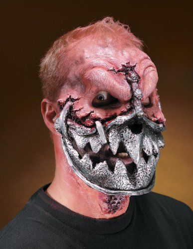 Reel FX Robot Jaw Theater Quality Makeup Costume Mask | Halloween ...