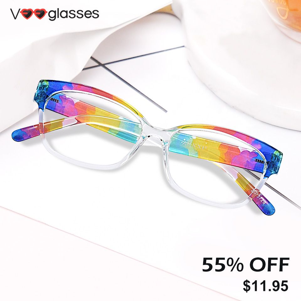 New Year events start ! ! ! Oval Tr90 White Glasses in