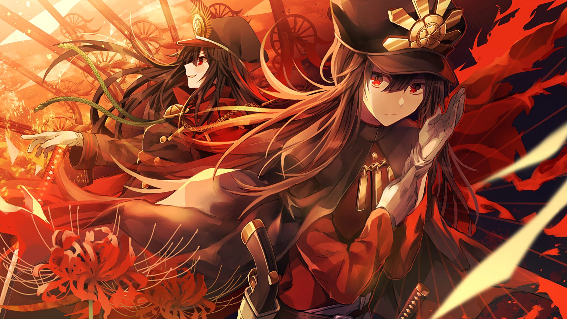Fate Grand Order Hd Wallpaper From Gallsource Com 織田 女侍