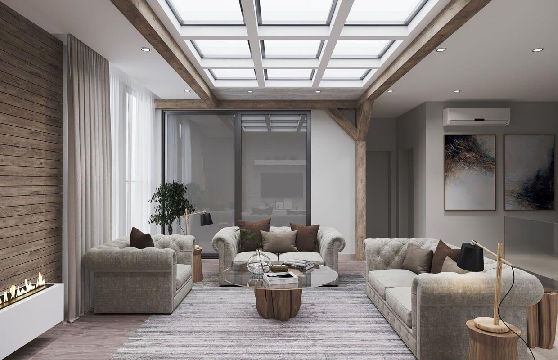 modern rustic house design  riyadh saudi araiba  cas