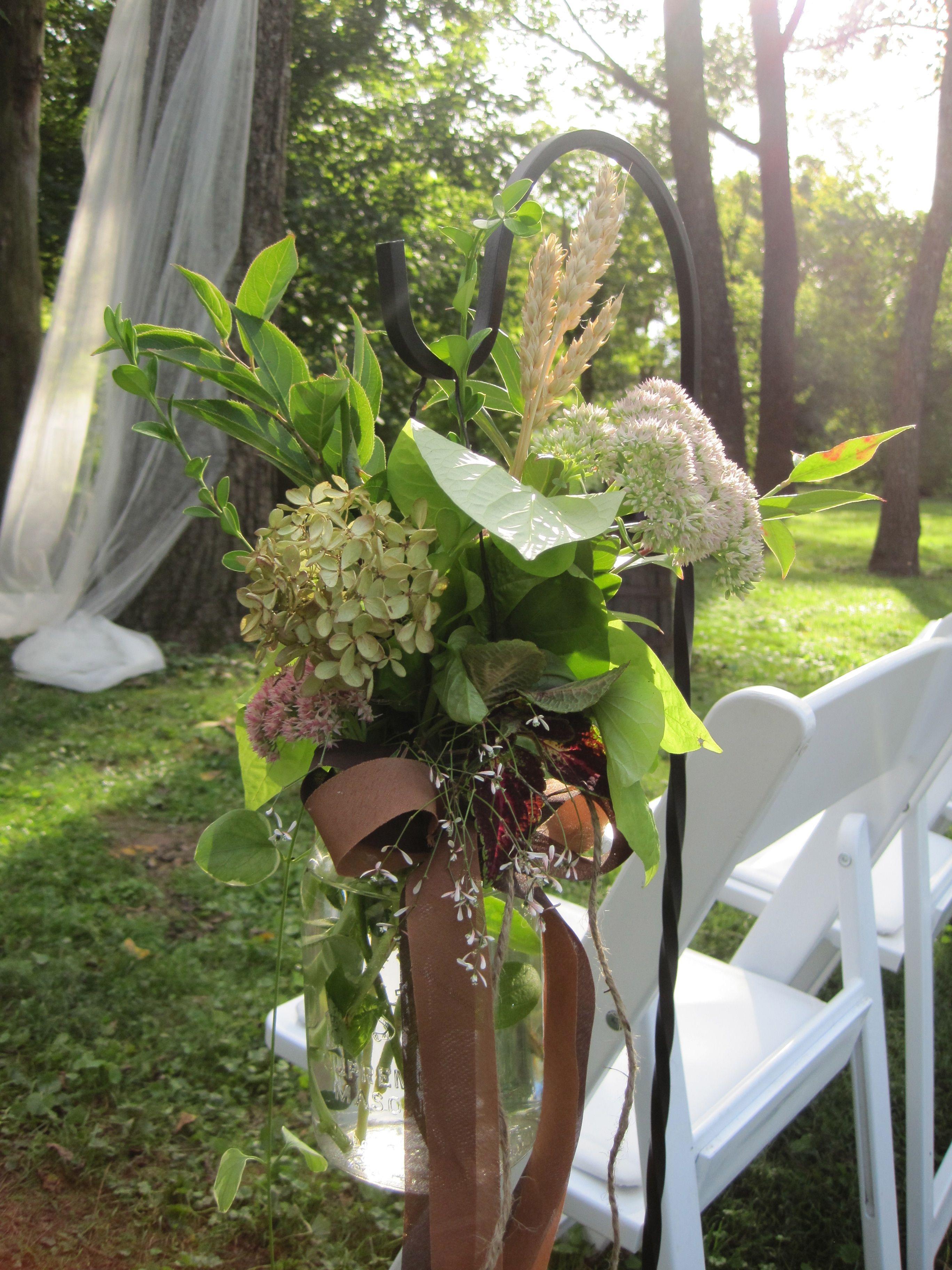 Hanging Mason Jar   Wedding Decor   Wedding decorations ...