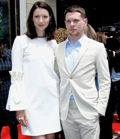 Caitriona Balfe and Jack O' Connell at Jodie Foster's 'Walk of Fame' Ceremony | Los Angeles| May 4, 2016