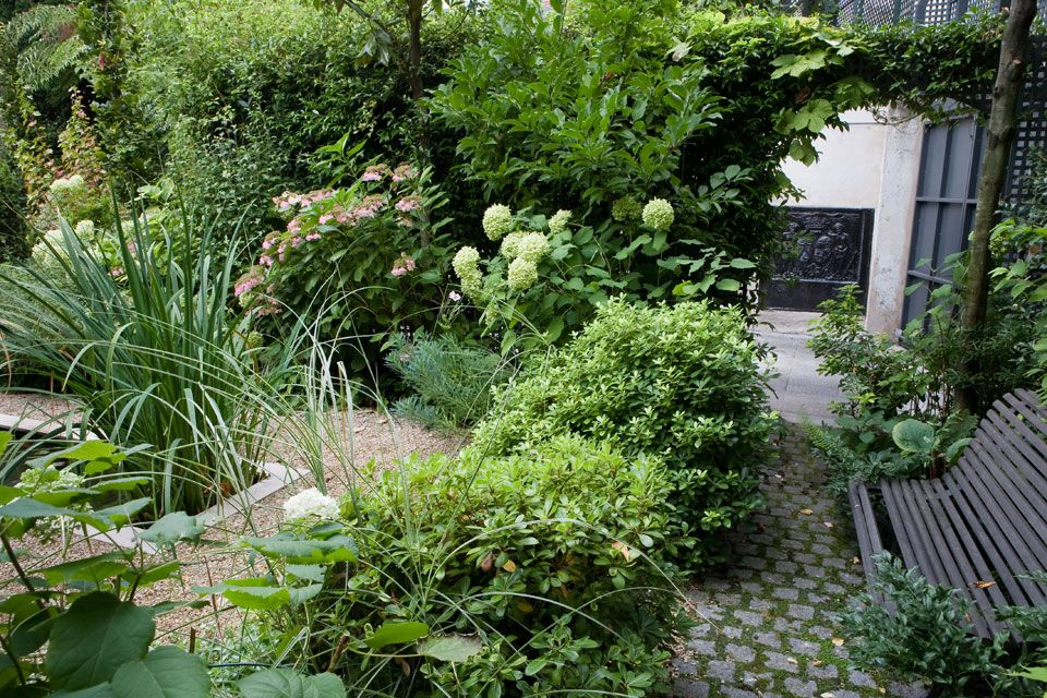 Terrasse en rez de jardin paris 16 jardins secrets jardins id es jardin et d co jardin - Rez de jardin paris ...