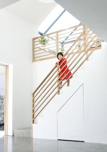 Offenes Treppenhaus ins verglaste Dachgeschoss Ideen rund ums - weko k chen eching