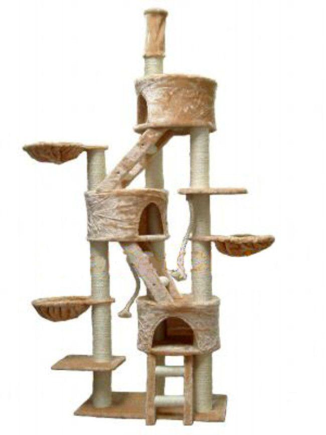 Go Pet Club 106 Three Condo Cat Tree Reviews Wayfair Cat Tree Cat Tree Condo Huge Cat