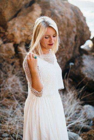 Hippie Brautkleid auf Kreta | Weddings