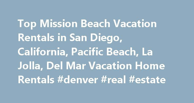 Top Mission Beach Vacation Rentals in San Diego, California, Pacific - apartment rental contract sample