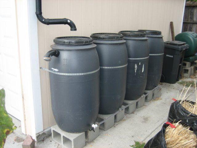 Rainbarrel System First Wash Of The Season Is Dirty